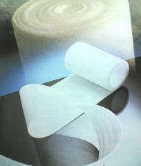 Tissu moelleux de polyéthylène