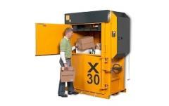 Vertical-shape precces for waste paper