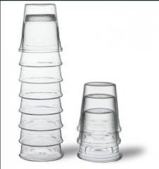 Aquatower large caraf and 4 glasses