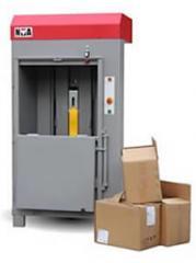 Waste paper press machine