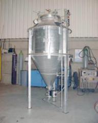 Powder dosing unit