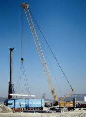 Crawler cranes. LR, LTR, HS Series