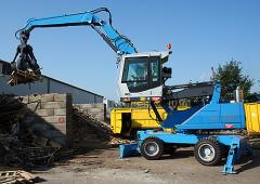 Mobile loading machines