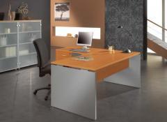 Table de bureau arquée