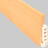 Electrowood (Skirtings with cable tunnel)