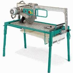 Machines for cutting dalle, ceramic tile, roofing