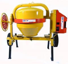 Compact concrete mixers