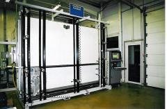 Semi-automatic test rig type P100S