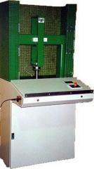 Test machine for Aluminium profiles (following EN)