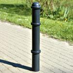 Poteaux en acier galvanisé à chaud, en inox et en