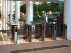 Security Entrance Lane with Compact Footprint