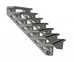 Escaliers et marches