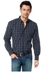 Chemise floyd check detail shirt
