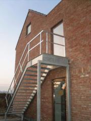 Escaliers en metal
