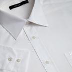 Plain easy care formal shirt white, 0405911-000