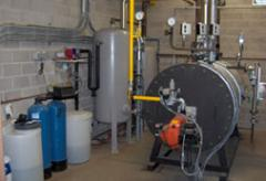 Industrial steam boilers. Small capacities.