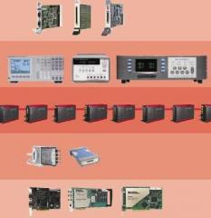 Het test apparatuur