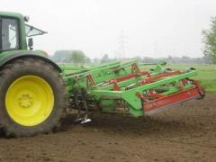 Combined seeding-machine