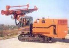 Pile-driving and drilling technics
