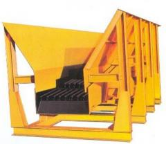 Receiving hoppers, blowers and elevators