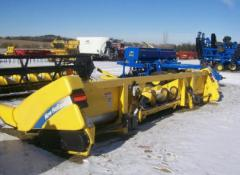 Жатка зерновая /Used Headers - Corn New Holland