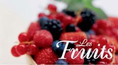 Des fruits frais, congelés toute l'année