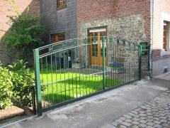 Barrières en metal