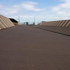 Revêtement de toiture noir