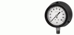 Non-corrosive pressure gauges