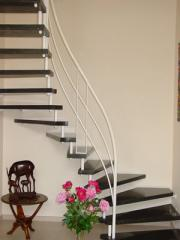 Marble winding stairs
