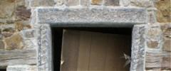 Encadrement pierre des portes