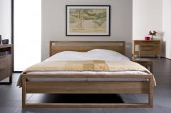 Chambre à coucher design en teck