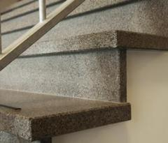 Escaliers de mosaïque de marbre Bomarbre