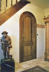 Porte intérieure cintrée