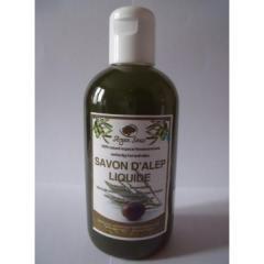 Savon d'alep liquide Argan souss naturel 70%