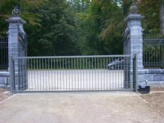 Electronically controlled rail fence SR