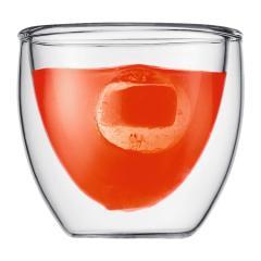 Cup 2 pcs glass, double wall PAVINA
