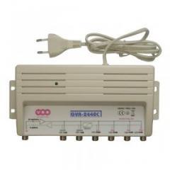 Amplifier 2 Data (2 x 1dB) + 4 TV (2 x 0dB + 2 x