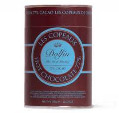 Copeaux de chocolat  Boîte 350g 77% de cacao