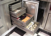 Worktables & - cabinets › Refrigerated
