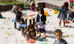 Sand table with 4 seats gp03