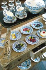 Ensemble de plats L'olseau Bleu