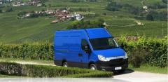 Véhicule Iveco Daily fourgon
