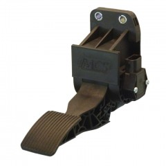 Electronic suspended throttle pedal