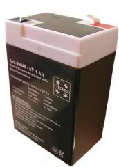 Accumulateur 6V - 4 Ah rechargeable