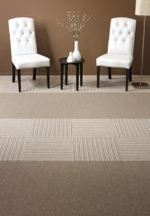 Woolen carpettiles Candy Stripe Tiles
