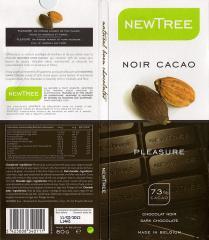 Chocolat Noir Cacao 73