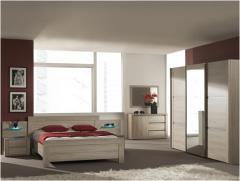 Chambre à coucher 2 personnes complète, code 254