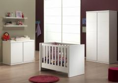 Chambre bébé blanche complète, code 308