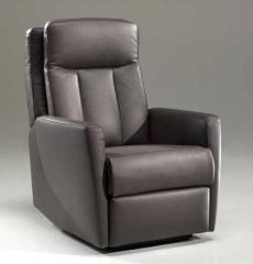 Fauteuil relax tissu ou cuir, code 254